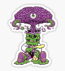 MAD SCIENCE MISFITS Sticker