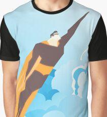 Generic Superhero Graphic T-Shirt