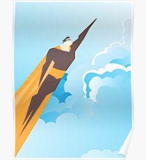 Generic Superhero Poster