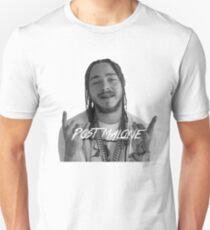 Post Malone black/white Unisex T-Shirt