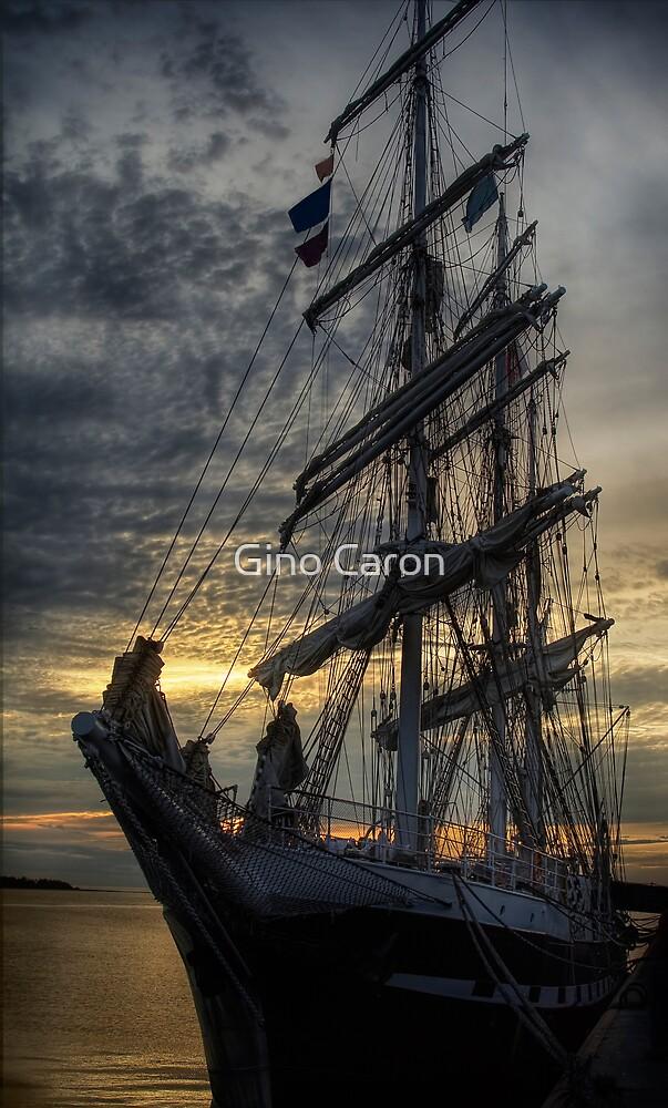 Sailing Ship by Gino Caron