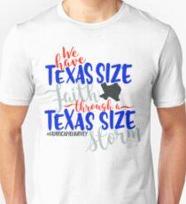Texas Size Faith - Disaster Relief Efforts Unisex T-Shirt