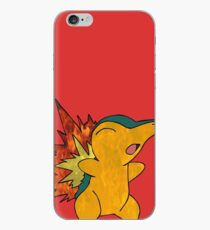Fire Cyndaquil iPhone Case