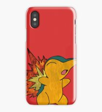 Fire Cyndaquil iPhone Case/Skin