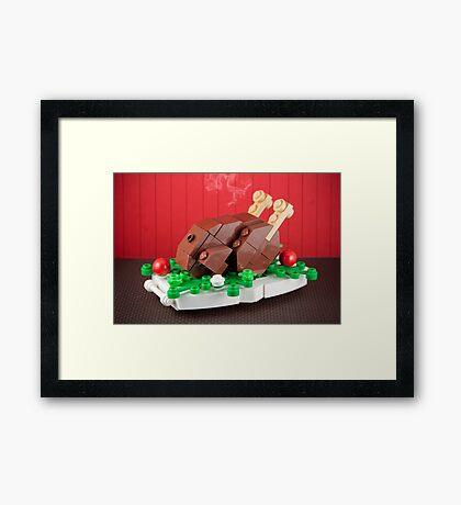A Proper Turkey Framed Print