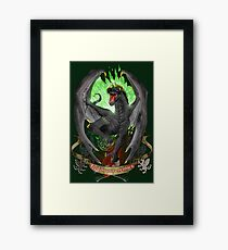 Dragon - Feed on your enemies Framed Print