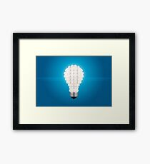 Here's an Idea! Framed Print