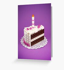 Let Them Build Cake Greeting Card