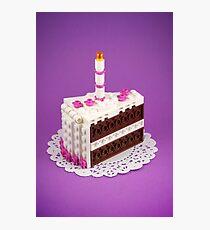 Let Them Build Cake Photographic Print