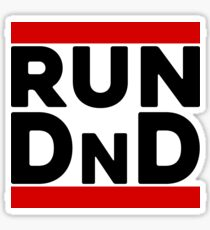 Run D & D Sticker