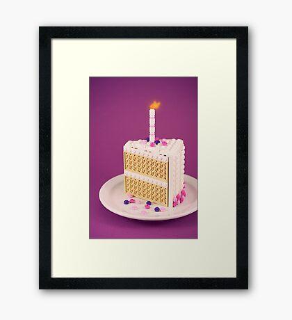 It's My Birthday Framed Print