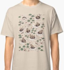 Coracle race - mice in lilies Classic T-Shirt