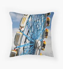 The Great Fun Wheel Throw Pillow