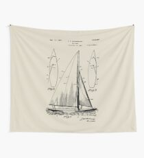 Sail Boat Wall Tapestry