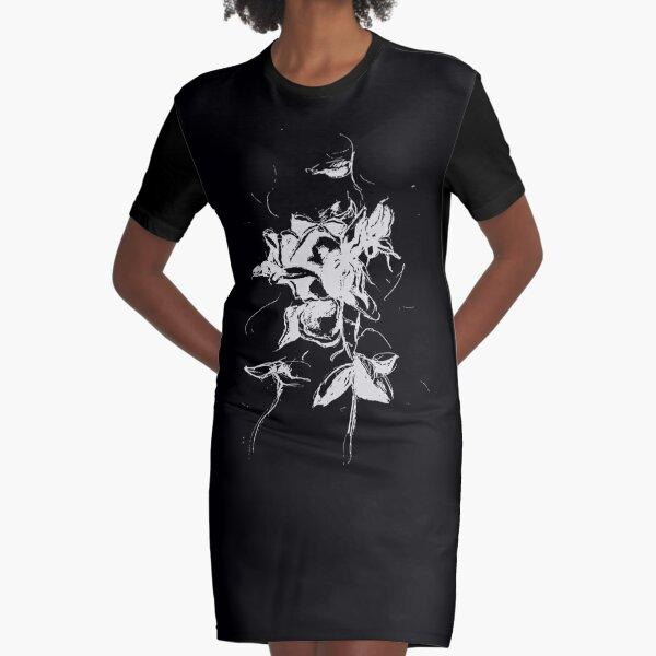 gotische Rose T-Shirt Kleid