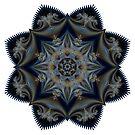Floral Mandala by Ruth Moratz