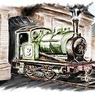 Ullswater Paper Mills No. 3 by Rasendyll