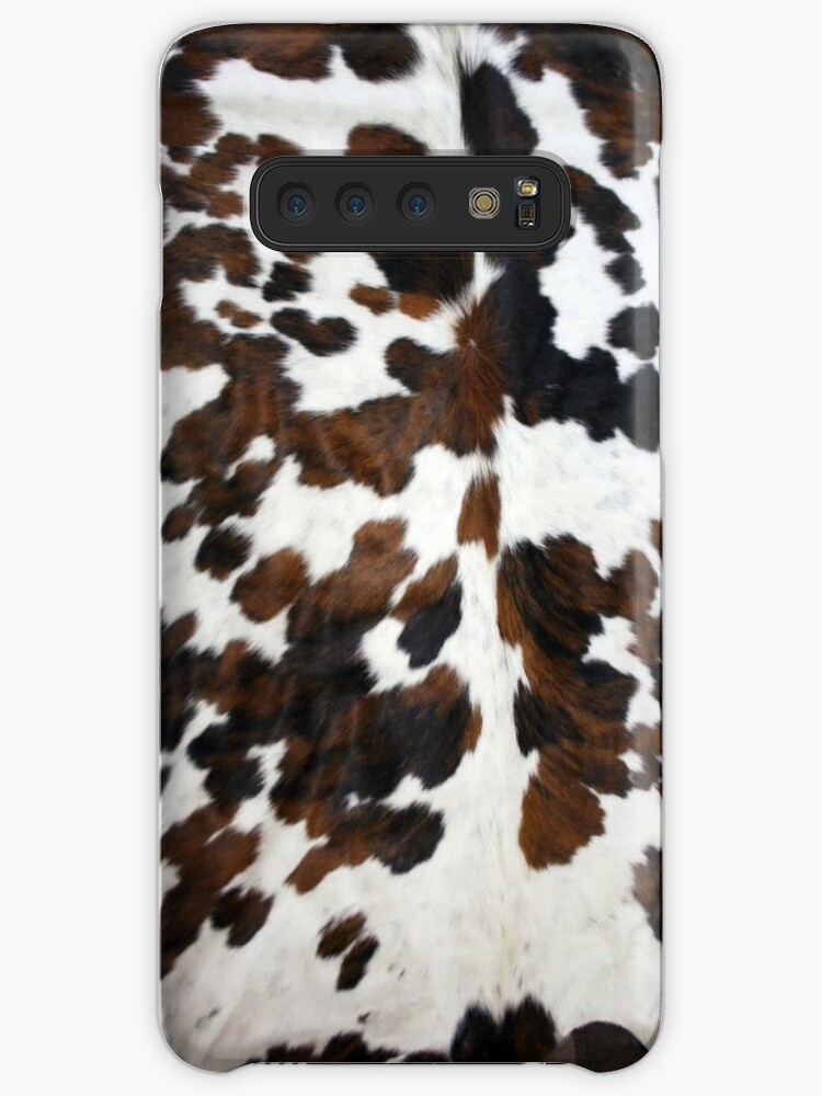 Cowhide Tan, black and white | Texture by koovox