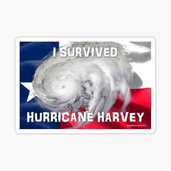 I Survived Hurricane Harvey Sticker