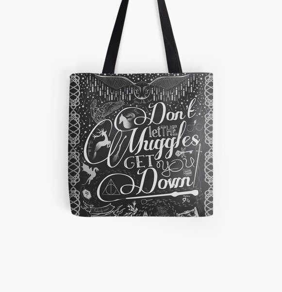 Don't let the Muggles get you down All Over Print Tote Bag