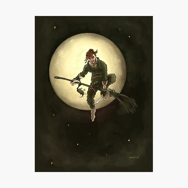 Witch boy Photographic Print