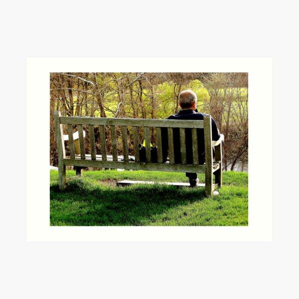 ~Bench~ Art Print