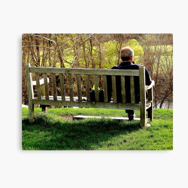~Bench~ Canvas Print