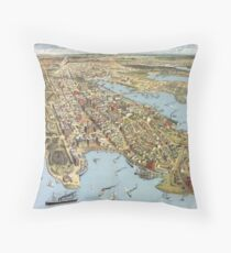 Sydney 1888 Throw Pillow