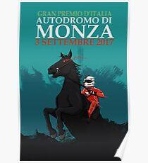2017 Italian GP Poster
