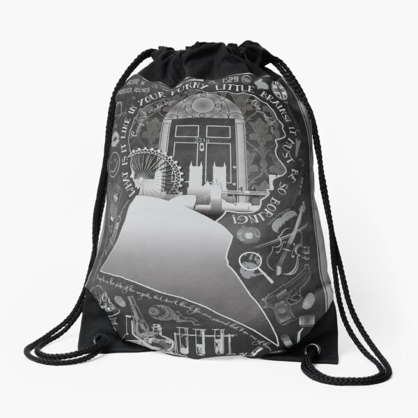 What is it Like in Your Funny Little Brains? Drawstring Bag