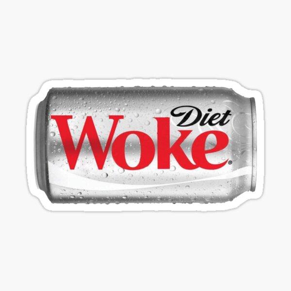 Diet Woke Sticker Sticker