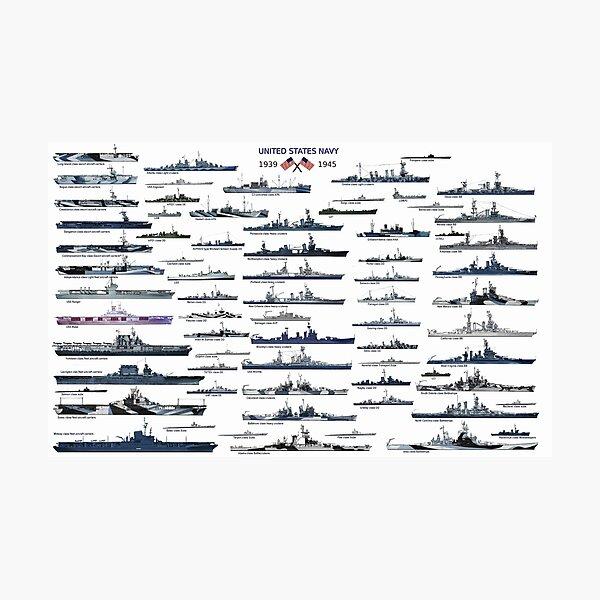 US Navy ww2 Photographic Print