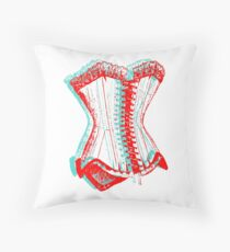Corset 3D Throw Pillow