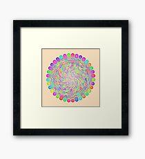 Random Color Generation Framed Print