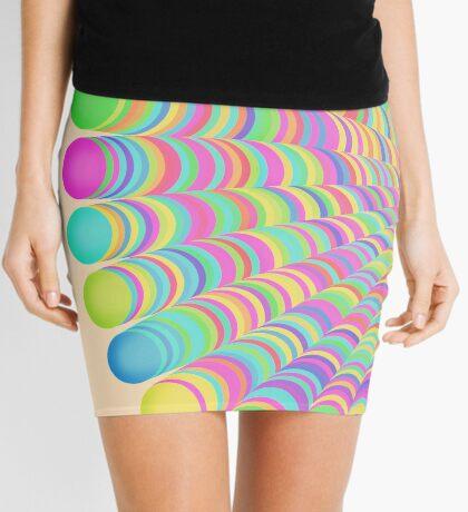 Random Color Generation Mini Skirt
