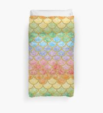 Funny Mermaid Scales Pattern 21 Duvet Cover