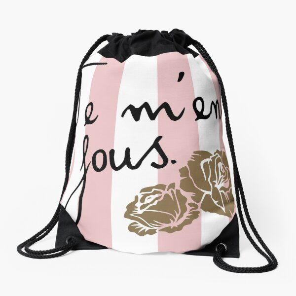 Je m'en fous Drawstring Bag