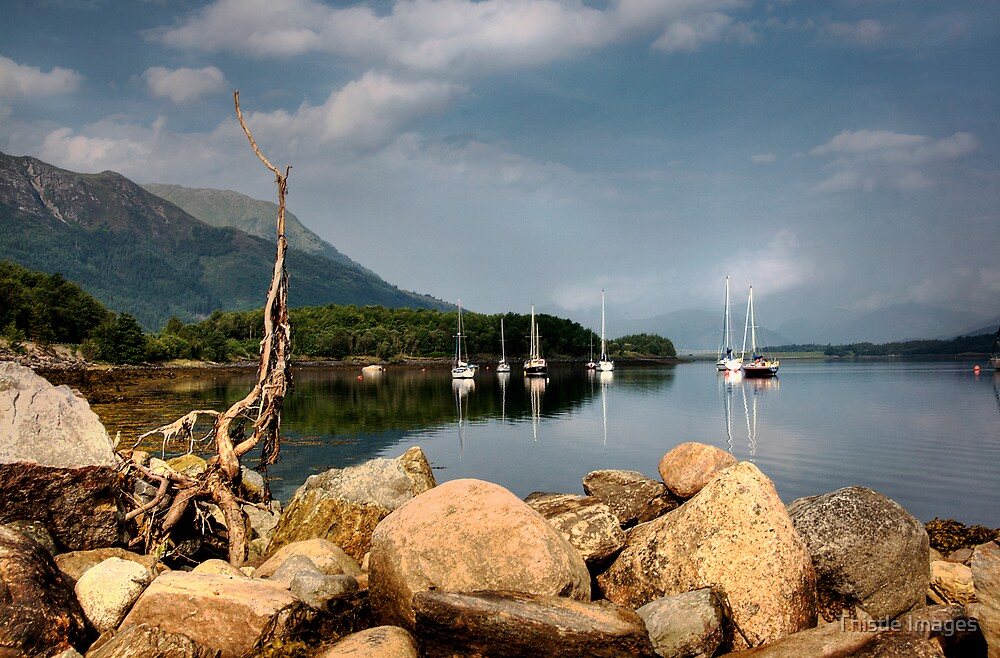 Leven Rocks by Thistle Images