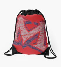 Miller M (Grey & Navy) Drawstring Bag