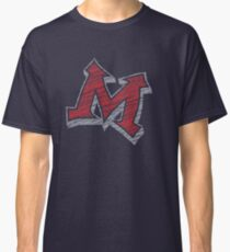Miller M (Red & Grey) Classic T-Shirt