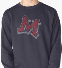 Miller M (Red & Grey) Pullover