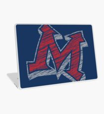 Miller M (Red & Grey) Laptop Skin