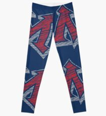 Miller M (Red & Grey) Leggings