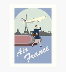 Air France Art Print