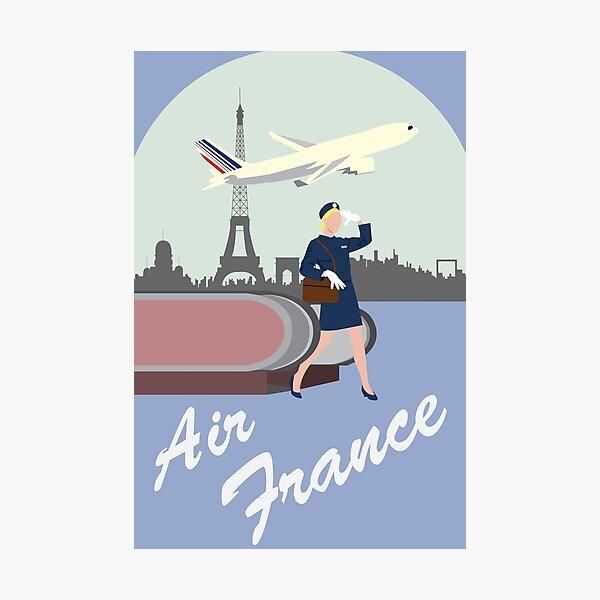 Air France Photographic Print