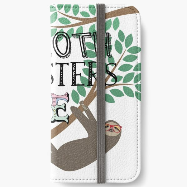 Hipsters Love Sloths iPhone Wallet