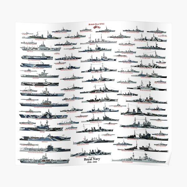 Royal Navy WW2 Poster