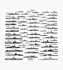 Royal Navy WW2 Photographic Print