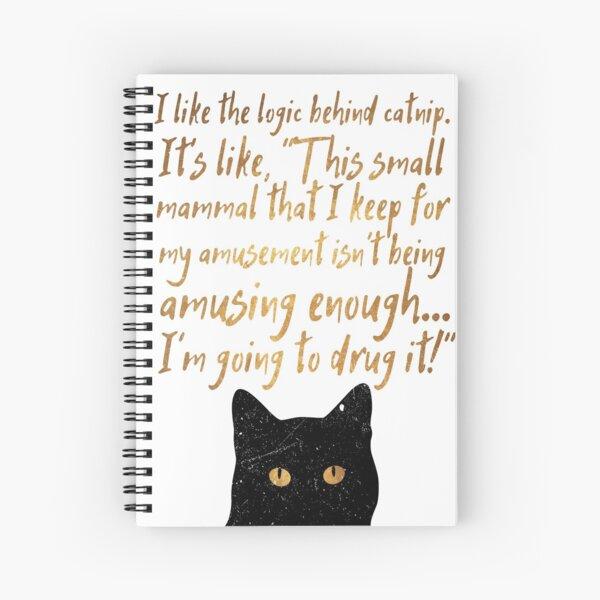 Catnip Spiral Notebook