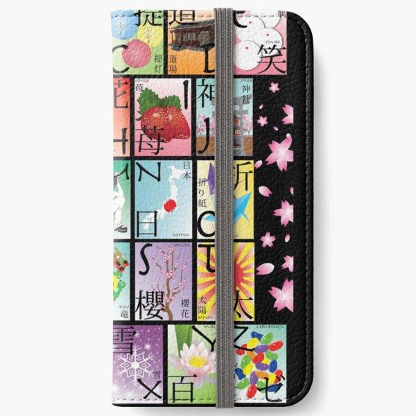Japan A-Z iPhone Wallet